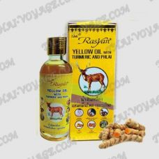 Herbal medicated oil with turmeric and ginger for pain relief Isme Rasyan - TV001813