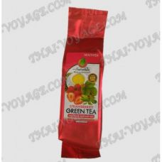 Green tea with flavor strawberry - TV001828