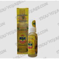 Лечебное масло спрей для тела цитронелла Thai Herbal Hong Thai - TV001870