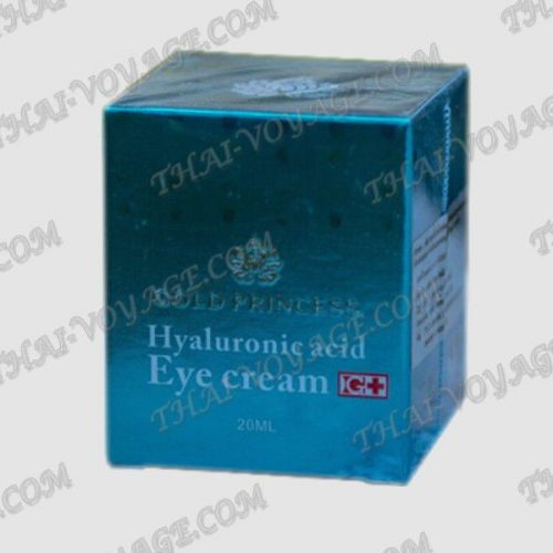 Cream for the skin around the eyes with hyaluronic acid Gold Princess -  TV001977