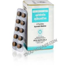 Antiparasitic remedy Krimighnavatika Kottakkal Ayurveda - IN002068-3202