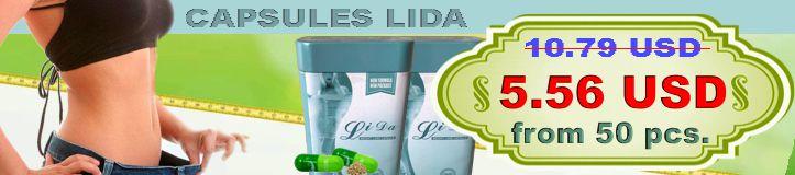 Buy LiDa slimming capsules